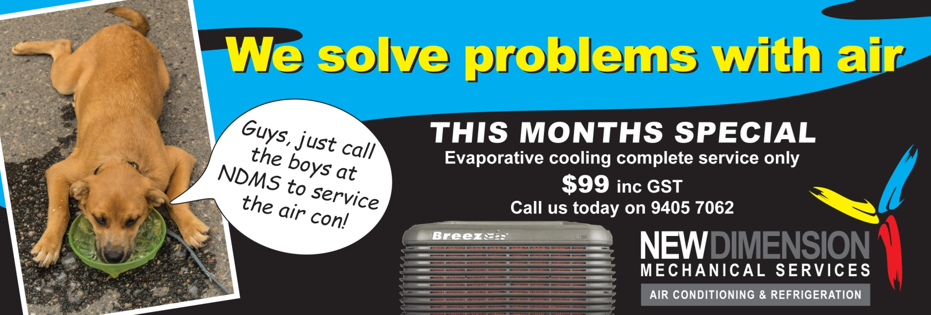 NDMS Evaporative Cooling Special