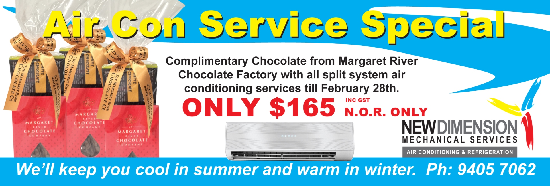 NDMS Slider Air Con Special Offer