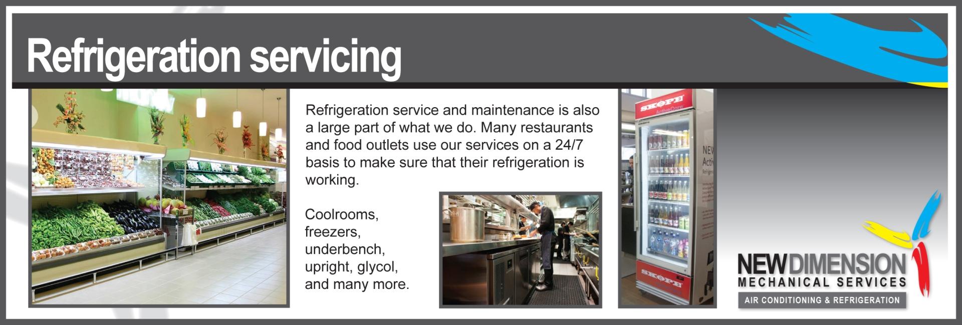 NDMS Slider Refridgeration service