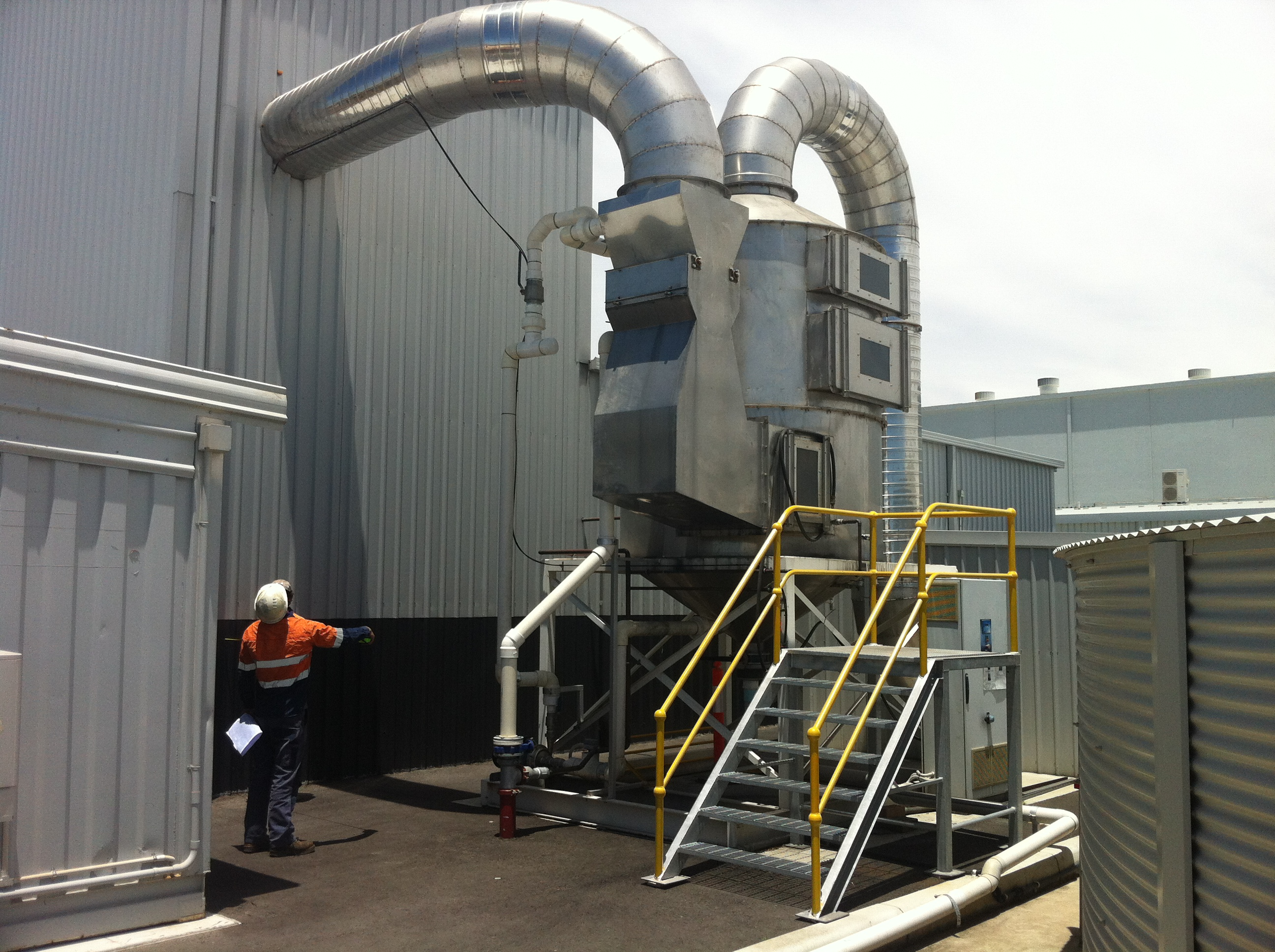 Exhaust Scrubber Systems